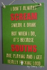 Naughty Souths South Sydney Rabbitohs Scream Sign Jersey Cards  Rugby League Etc