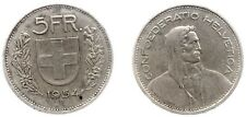 Svizzera - Confoederatio Helvetica (1850-), 5 Franchi 1954,BB#1551#