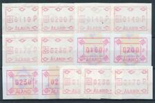 [315509] Aland good lot of Postage Label stamps very fine MNH