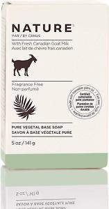Natural Soap Bar Canadian Goat Milk Vitamin Unscented Moisturizer Sensitive Skin