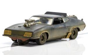 1:32 Ford XB Falcon Matte Black (Muddy) MAD MAX Slot Car - Scalextric C3983