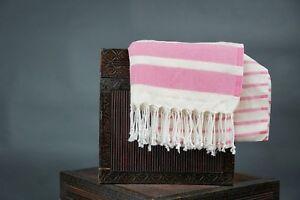 Turkish bath towel, beach cover/towel, spa towel,100 percent Bamboo, color pink