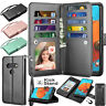 For LG K51 /LG Q51 / LG Reflect Folio PU Leather Card Holder Wallet Case Cover