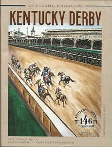 2020 - 146th Kentucky Derby program in MINT Condition - AUTHENTIC
