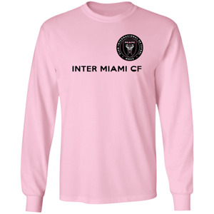 Men's New Start Inter Miami CF Primary Soccer Logo 2020 T-Shirt S-5XL