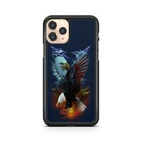 Majestic Feathery Eagle Birds Striking Lightning Clouds Fine Phone Case Cover