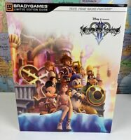 SHIPS SAME DAY Kingdom Hearts II Strategy Guide Limited Ed Bradygames Final Form