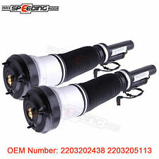 2x Pour Mercedes S Classe W220 Airmatic Suspension Pneumatique Shock 2203202438