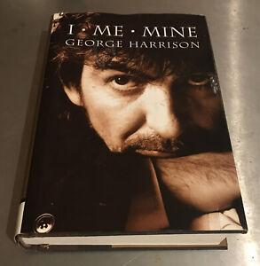 I, ME, Mine by George Harrison Hardcover 2002