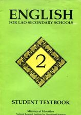 English for Lao Secondary Schools, Student Textbook 1997 From Vientiane, Laos
