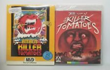 MVD Arrow Attack / Return of The Killer Tomatoes Blu-ray Bundle - George Clooney