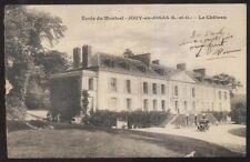 Postcard JOUY-en-JOSAS FRANCE  Ecole du Monteel Le Chateau view 1910's