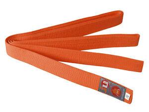 Ju-Sports Budo-Gürtel orange, Karate, Judo, Ju-Jutsu, Taekwondo-Gürtel, BELT