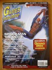 RIVISTA THE GAMES MACHINE - VIDEOGIOCHI PER PC - N. 157 Giugno 2002
