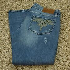 Vigoss Jeans Women's Faded Blue 31 x 32 (Measures 31 x 30)