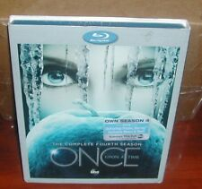 Once Upon a Time: The Complete Fourth Season (Blu-ray Disc, 2015, 5-Disc Set New