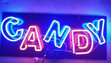 "New Candy Neon Light Sign 24""x20"" Lamp Poster Real Glass Beer Bar"