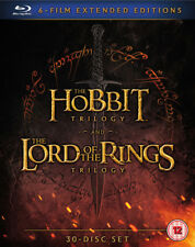 The Hobbit Trilogy/The Lord of the Rings Trilogy: Extended... DVD (2016) Martin
