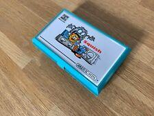Juego de Nintendo y Reloj aplastar 1986 LCD electrónico Juego-prístina/Menta-a +++