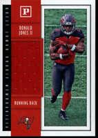2018 Panini Ronald Jones Quest Jumbo Relic Patch Rookie Card Tampa Buccaneers