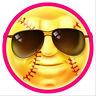 40 Softball Be Cool 1 inch  reward decals for batting helmets ATTN COACHES!!