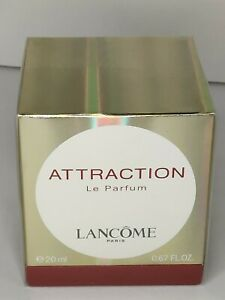 Attraction By Lancome Women Le Pure Parfum Splash 0.67 oz / 20 ml Rare NIB