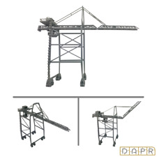 DAPR-N Gauge Model Railway Scenery Building Kit-Dock/Port Gantry Container Crane