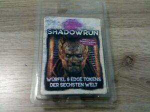 Shadowrun Würfel & Edge Tokens der Sechsten Welt Pegasus Neu OVP