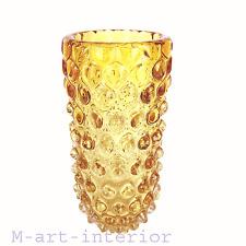 Glas Vase ´lenti´ Ercole Barovier & Toso Art Glass Murano Italy um 1940