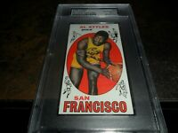 1969 TOPPS #24 Al Attles Autographed Signed Card SAN FRANCISCO WARRIORS PSA/DNA