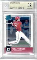 2016 Donruss Optic Chrome #33 Trea Turner RC Rookie BGS 10 Pristine POP 4