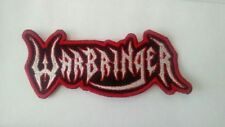 Warbringer Embroidered Patch IRON ON/sewThrash Metal USA Seller Metallica