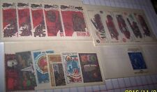 RUSSIA 1985 ANNIVERSARY STAMP SETS X 4 SETS MNH LOT 66