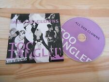 CD Pop Too Tangled - All Sad Clowns (1 Song) Promo AMADIS POPUP