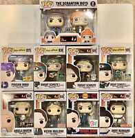Funko Pop The Office Lot of 9-Scranton,Prison Mike,Recyclops,Scarn,Andy,Kevin