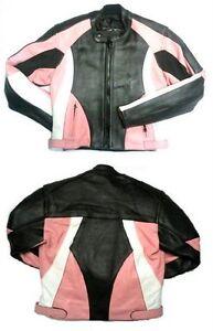 Baby Biker Kids Demon Sport Leather Childs Motorcycle Motorbike Jacket Pink T