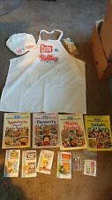 New listing RARE Frito Lays Ruffles Advertising Apron w Mathing Hat+Brand  Name Magnets Ckbks 4847b78c4
