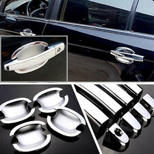 Chrome Door Handle Bowl Cover Cup Overlay Trim For Chevrolet Epica #HC21