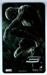 EGV CINEMAS ( Thailand ) Spider-Man 3 / Coca-Cola 2007 Promotional Calendar Card