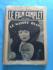 LE FILM COMPLET. 1-2-1930 THRU 11/11/1930 - 106 ISSUES