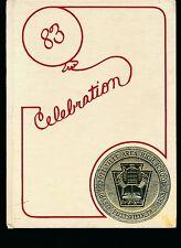 Pottsville PA Pottsville High School yearbook 1983 Pennsylania