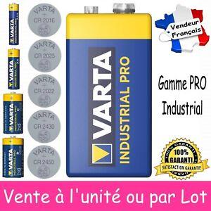 VARTA - Piles PRO 6LR61 9V LR03 LR6 LR14 LR20 CR2016 CR2025 CR2032 CR2430 CR2450