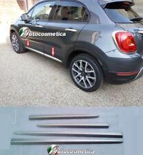 Modanature Cornici Profili Minigonne Acciaio satinato FIAT 500X Made in Italy >>