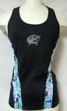 Columbus Blue Jackets Womens Medium Touch by Alyssa Milano Yoga Tank Top A1 1755