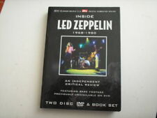 inside Led Zeppelin 1968 - 1980 2 dvd´s nm