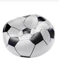 Football Soccer Ball Bean Shape Bag Indoor Outdoor Sofa Seat Chair