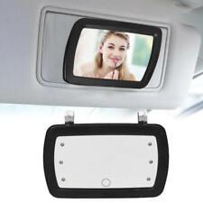 New wert LED Lighted Black Clip On Sun Visor/Vanity Mirror Car/Automobile Light