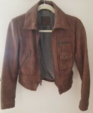 Banana Republic Leather Jacket XS Petite