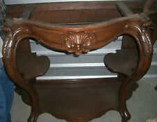 Antique Rococo Revival etagere Pier Table 1800's Thomas Brooks style