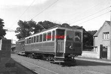 PHOTO  1979 MANX ELECTRIC RAILWAY RAMSEY TRAM CAR NO 20 IS SEEN AT THE NORTHERN